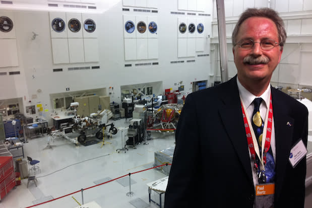 Paul Hertz, director of NASA's astrophysics division, will speak Wednesday at Solomon Schechter of Westchester in Hartsdale.