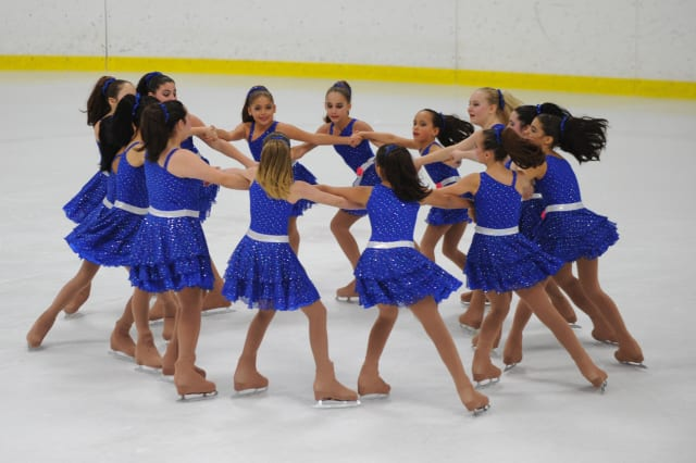 The Shimmers are one of three teams from the Southern Connecticut Synchronized Skating that will be holding tryouts in March.