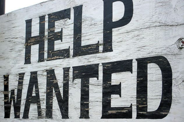 Businesses in the Rye area are hiring.