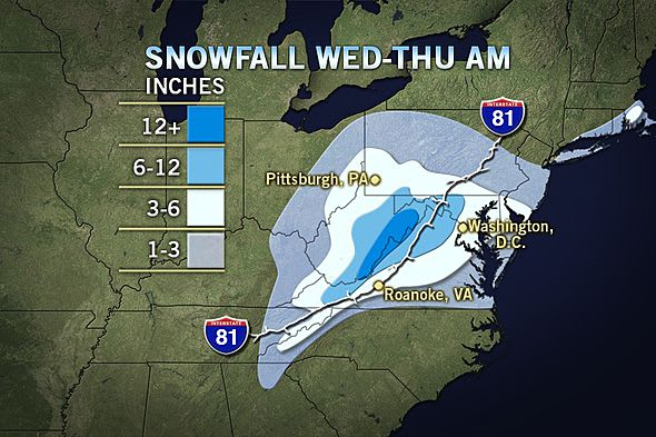 According to this Accuweather snow fall prediction, Fairfield County is likely to get one to three inches of snow in the coming storm.