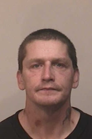 Warren Laughner, 41, of Derby was charged with larceny and conspiracy by Fairfield Police Tuesday.