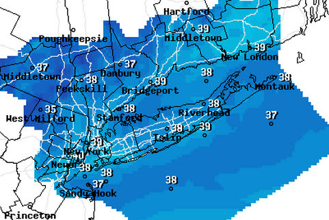 A cold front could bring snow and flurries to the area this weekend.