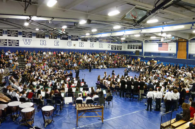 Over 300 Westport student will perform in the annual Westport Band Festival, happening Wednesday at Staples High School.