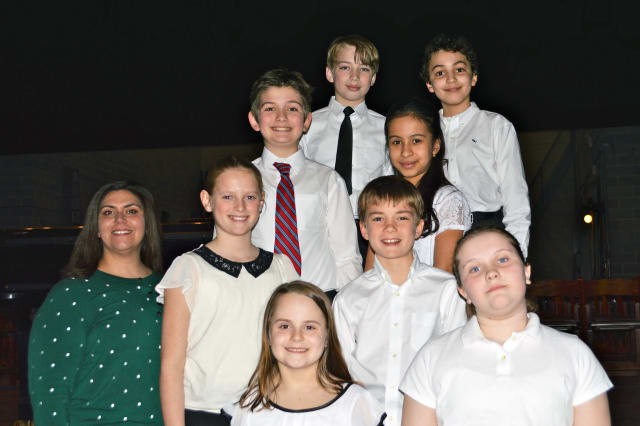 Fourth- and fifth-graders from Pound Ridge and Mt. Kisco were chosen to participate in the WCSMA All-County Music Festival.