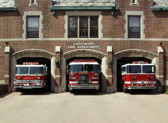 The Larchmont Fire Department received a federal grant to hire three new firefighters.