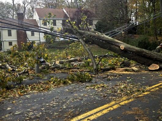 Hurricane Sandy caused more than 850,000 power outages in Connecticut.