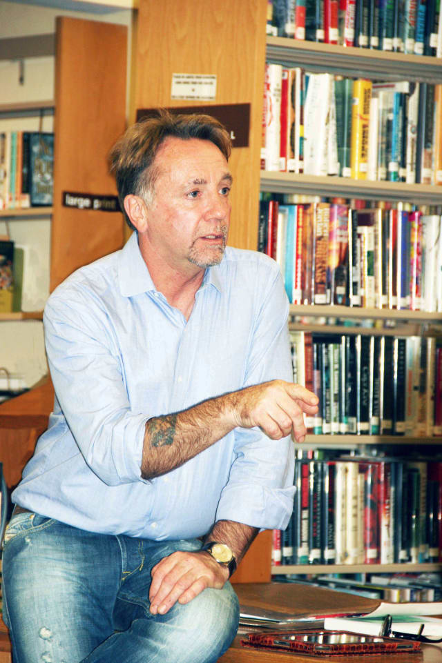 """North Salem chef and writer Antony Ballard discusses his new book """"Food and Shelter""""."""