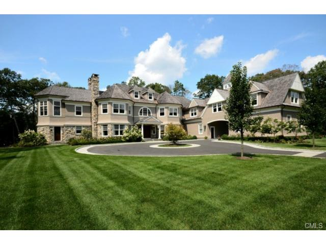 The home at 10 Heather Drive in New Canaan will be open from 2 to 4 p.m. Sunday.