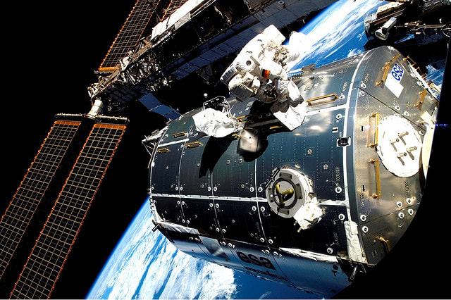As the ISS passes over Westchester County the next few days, Thursday, Friday and Saturday night will all offer brief windows to see it with the naked eye.