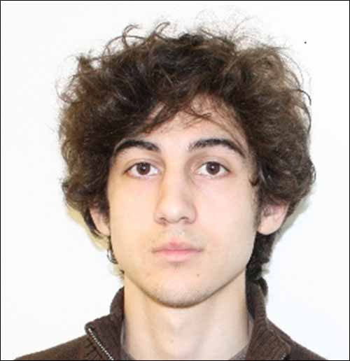 Boston Marathon bombing suspect Dzhokhar Tsarnaev, 19.