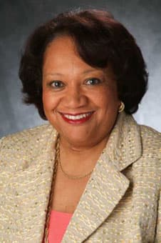The graduate school commencement speaker at Western Connecticut State University is Juanita T. James, president and CEO of the Fairfield County Community Foundation.