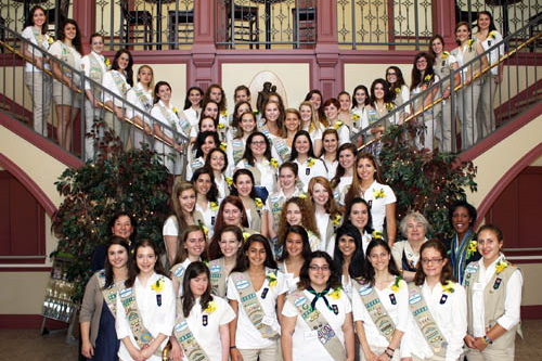 Nine Greenwich Girl Scouts are among the 70 recipients of this year's Gold Awards.