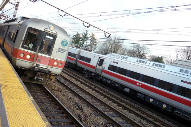 Heat and an earlier fire delay trains on the New Haven Line in Fairfield County on Friday.