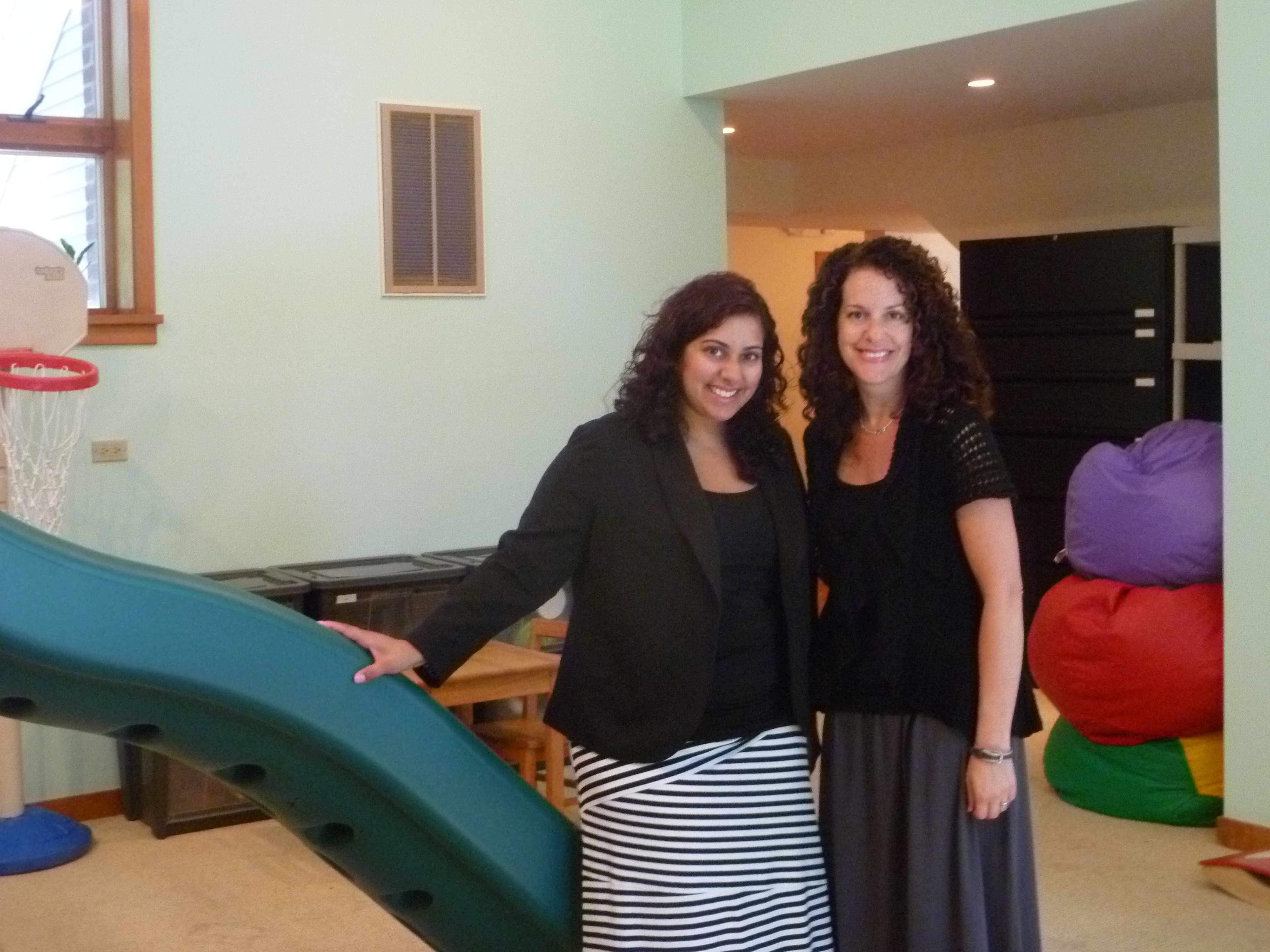 Shaina Rotstein and Carla Commissio-Kelvin recently opened Talk of the Town, a speech and language center in Mt. Kisco.