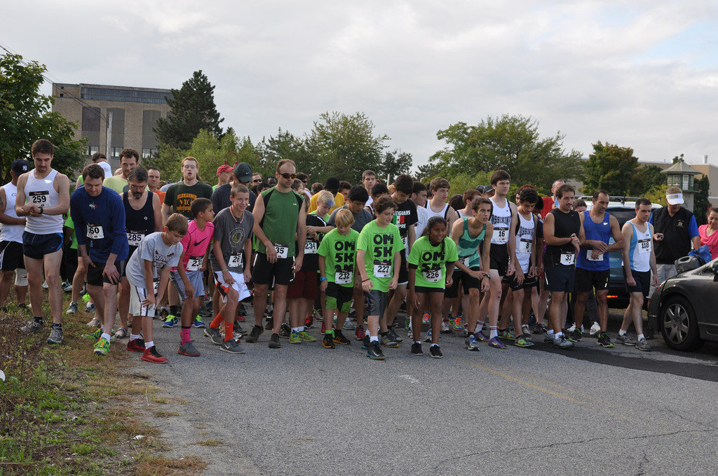 The 11th annual Ossining Matters 5k race/2-mile walk took place Saturday.