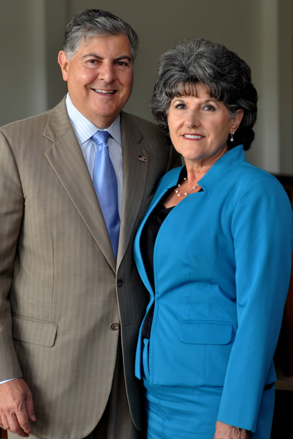 A new lecture hall on the Sacred Heart University campus will be named after New Canaan residents Frank and Marisa Martire in recognition of their $1 million donation.