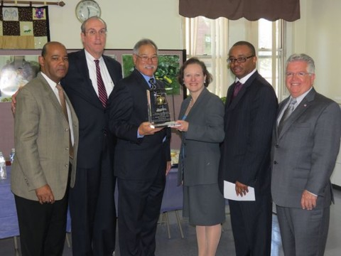 The County Board of Health awarded the Passage to Excellence Be Fit Program at Bethel Baptist Church the 2013 Distinguished Public Health Service Award. The group is looking for candidates for 2014.