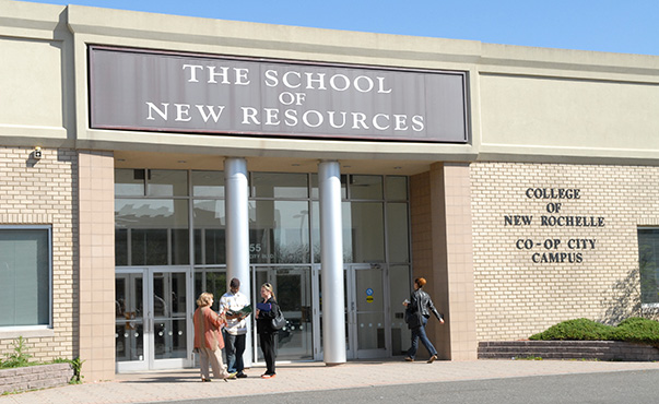 College of New Rochelle School of New Resources in Co-op city.
