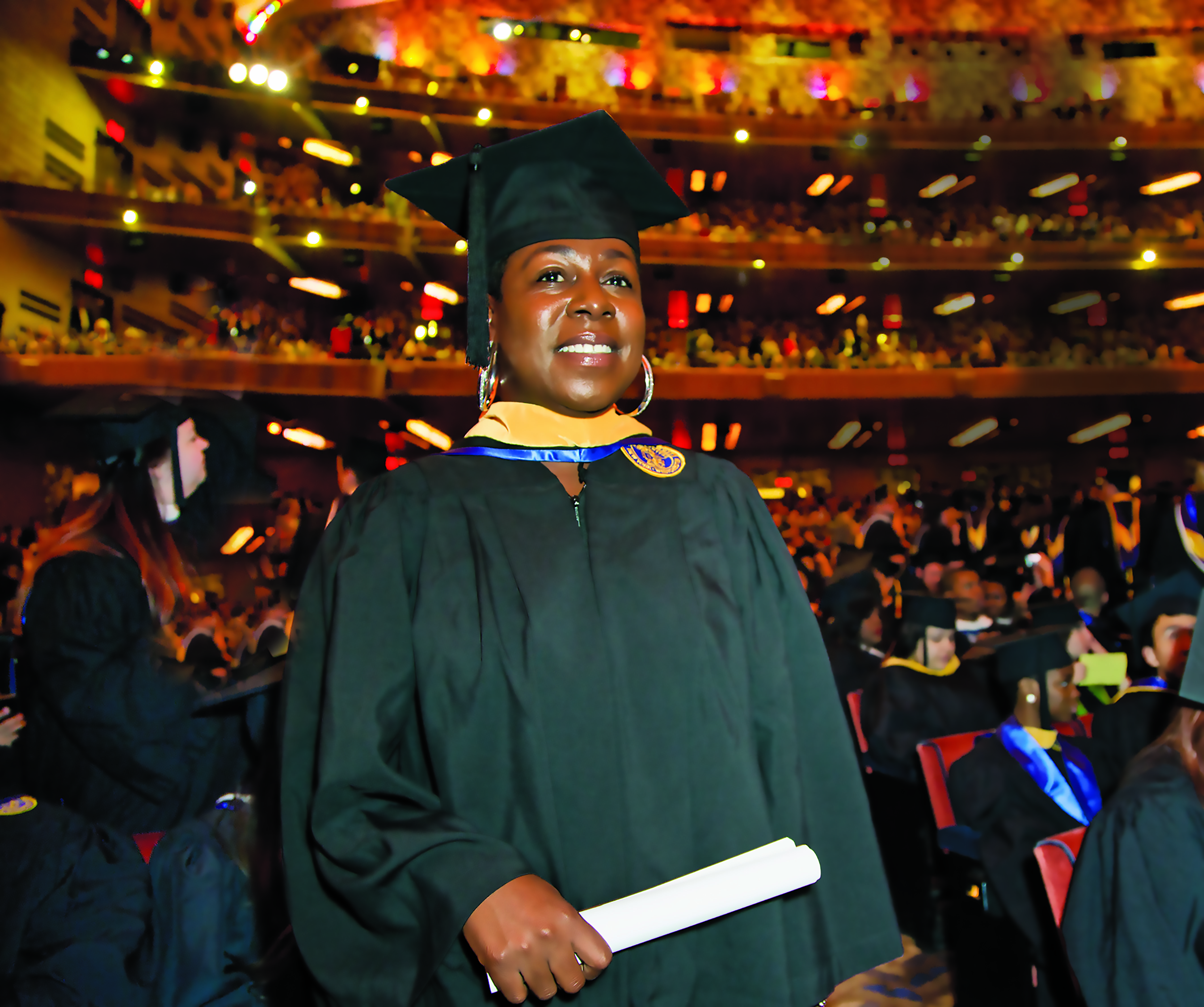 Shanika Cherry graduated from the iPace online program last year with a BS in Professional Technology Studies-Computer Forensics.
