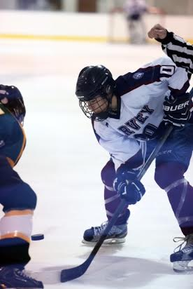 Keith Lambert's hat trick sparked a 13-3 win over Forman for the Harvey hockey team.