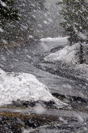 Light snow showers are forecast for Wednesday in Fairfield County.