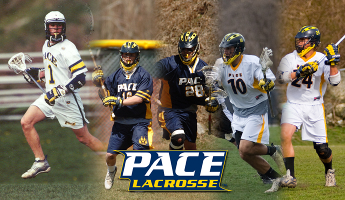 The Pace University men's lacrosse program will host senior and alumni day on Saturday, April 12.