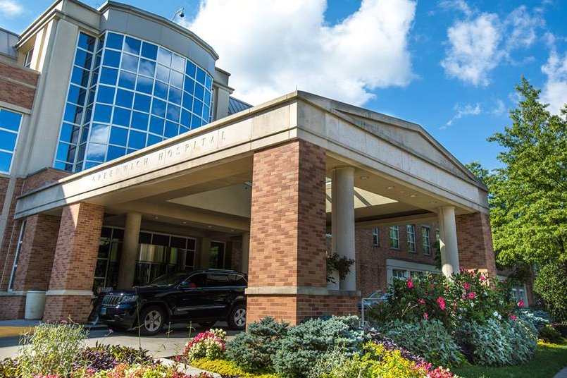 """Greenwich Hospital had the highest ranking for both """"overall rating"""" and """"willingness to recommend"""" among regional hospitals according to recent consumer data."""