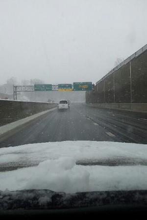 Drive carefully with rain in the forecast for Wednesday evening with sleet possible in Northern Westchester.