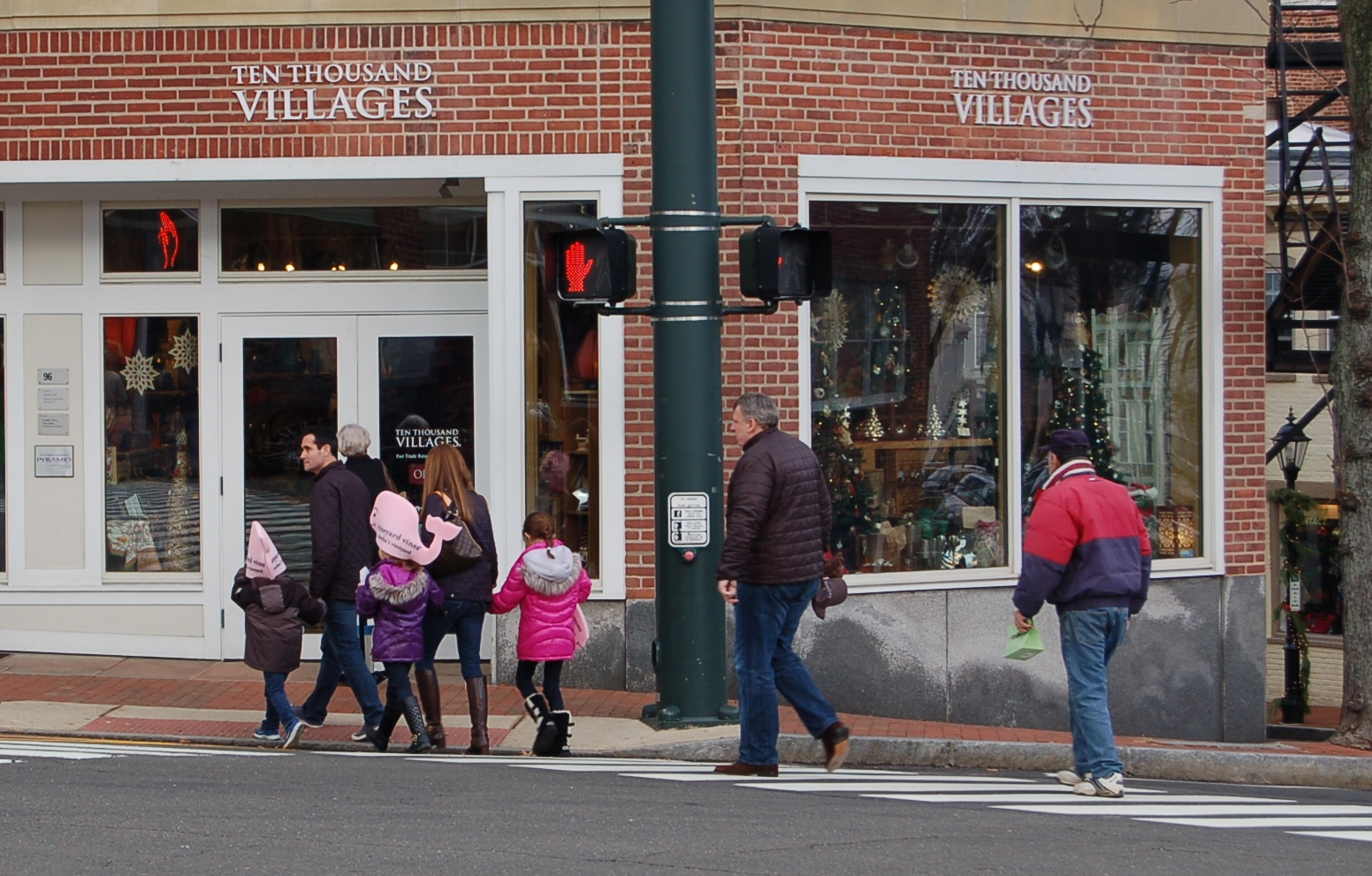 Ten Thousand Villages is located at 96 Main St., New Canaan.