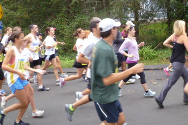 Runners can take part in an eight-week training session.