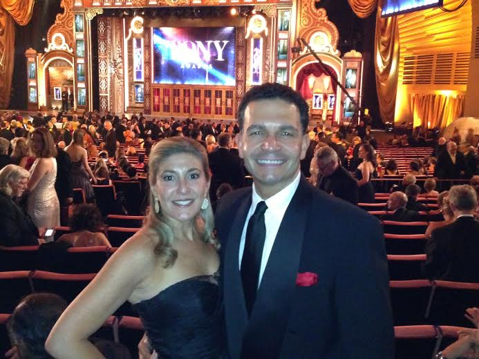 """Bronna and Jed Canaan, seen at the Tony Awards, are hoping their investment in """"Bullets Over Broadway"""" pays off."""