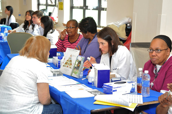 White Plains Hospital is hosting a neighborhood health fair that will include screenings for diabetes, HIV, cancer and more.
