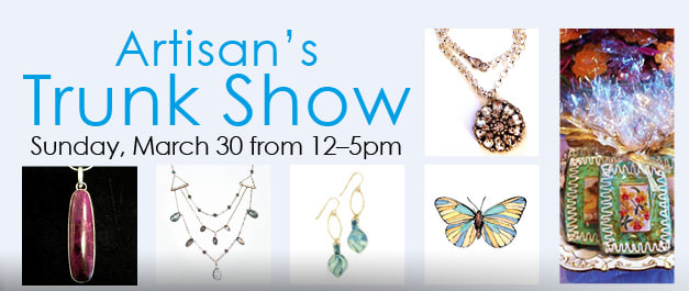 The Silvermine Arts Center in New Canaan is set to present the spring Artisan's Trunk Show on Sunday, March 30.