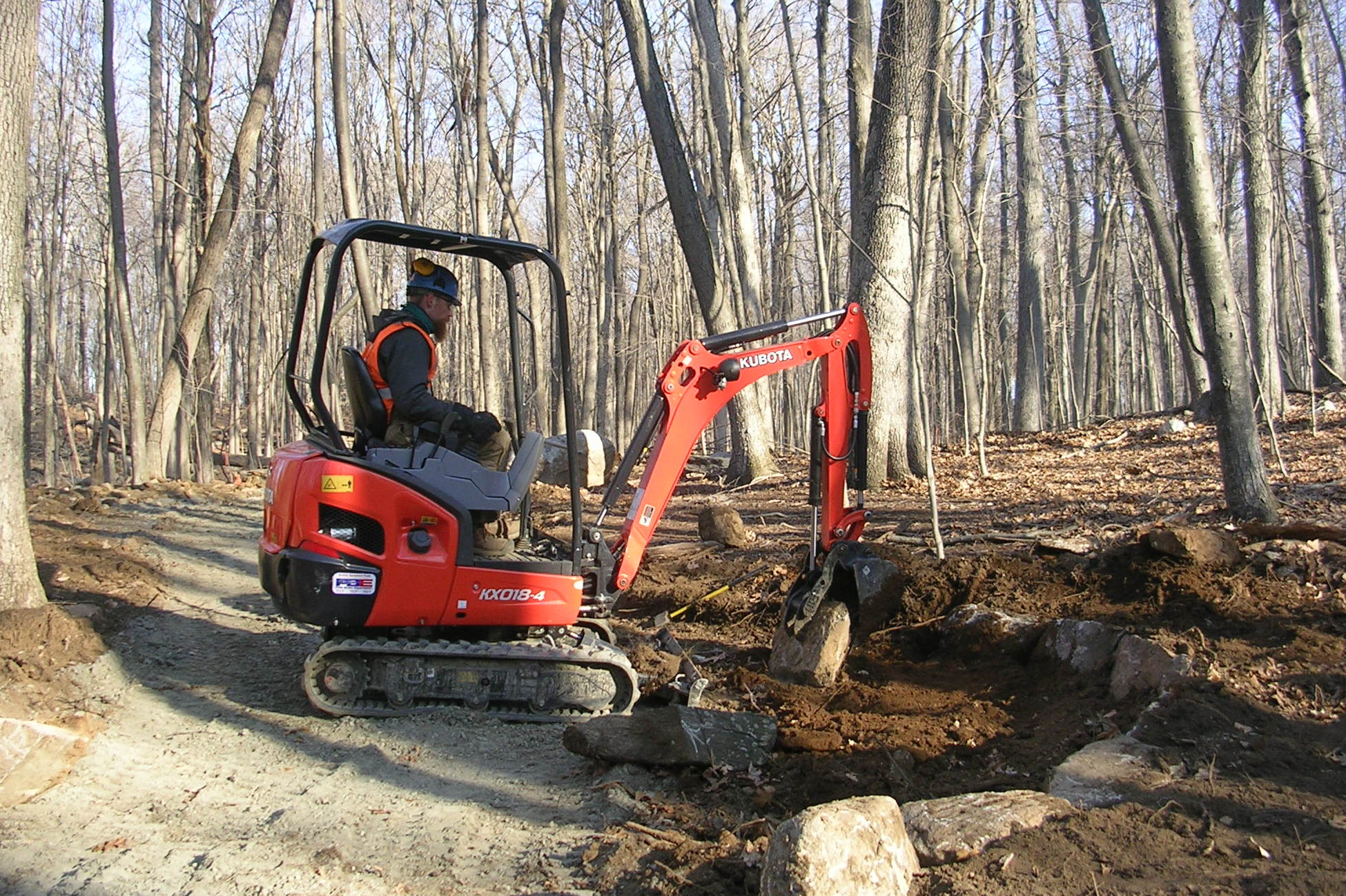 After rough weather in winter stopped work on the Norwalk River Valley Trail, workers are now back on the job.