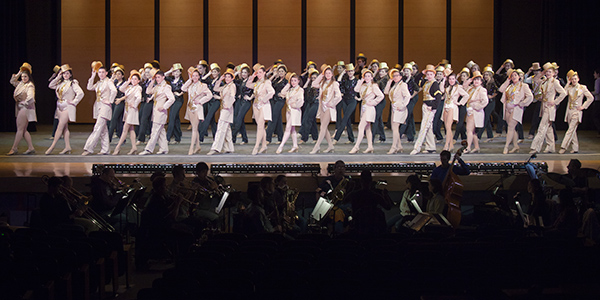 """The Harrison High School players earned rave reviews for the March production of """"A Chorus Line,"""" school officials said."""