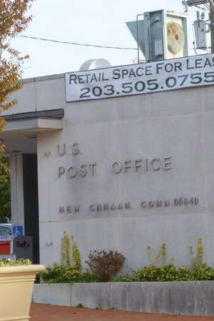 "The New Canaan Police Department are letting residents know that police will have ""a regular presence at the 90 Main St. temporary Post Office, according to a report from NCAdvertiser.com."