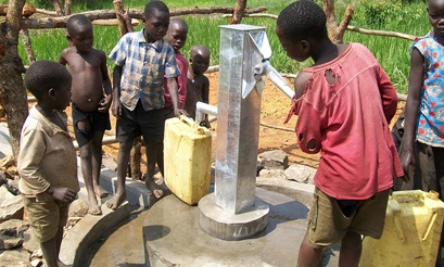 Students at The Chapel School in Bronxville recently raised $7,500 to fund a water well in Uganda.
