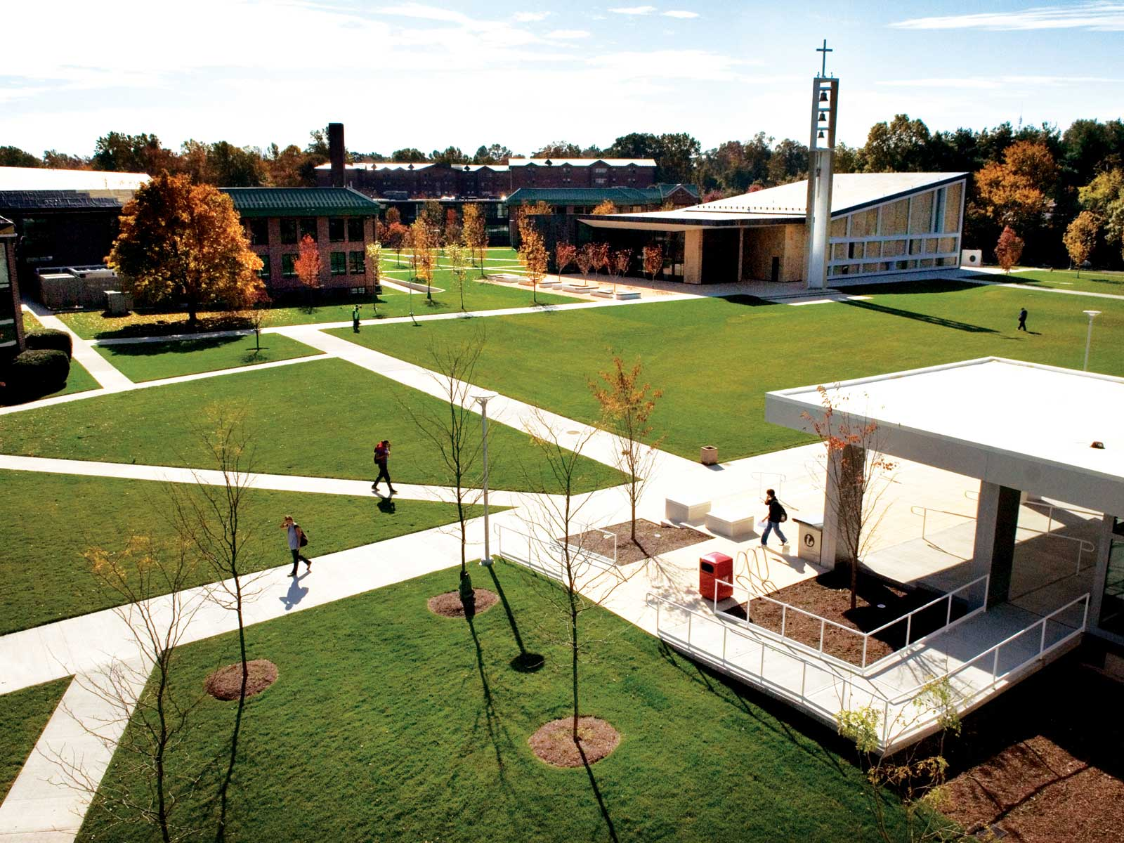 The Sacred Heart University John F. Welch College of Business was recently named one of the top undergraduate business schools by Bloomberg Businessweek.