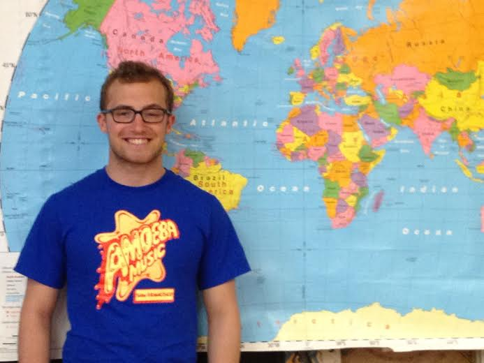 Hastings High School senior Jesse Litvin is headed to the United States Geography Olympiad in Washington D.C.