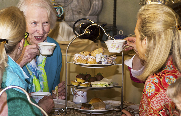 Mothers, grandmothers and children are invited to celebrate a day of afternoon tea and music at Caramoor Center for Music and Arts' Mothers and Others Tea Musicale.