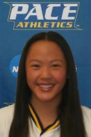 Pace University softball player Shelby Yung named Northeast-10 Rookie of the Year.