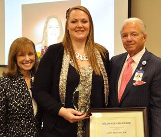 Greenwich Hospital celebrated National Nurses Week and  honored labor and delivery department nurse Lynne Reynolds with the Helen Meehan Award for Excellence in Nursing.