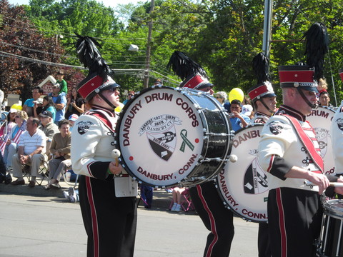 The Memorial Day Parade in Danbury steps off Monday at 9:30 a.m. at Rose Street and Main Street.