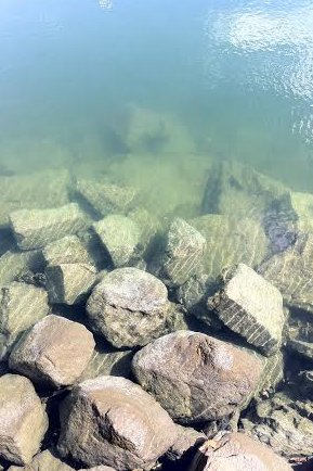 Cold water has left wonderful clarity in Long Island Sound, but with warmer weather approaching, that may not last too long.
