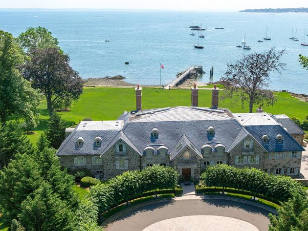 "This Darien home is up for an HGTV ""Doory Award,"" along with two Greenwich homes."