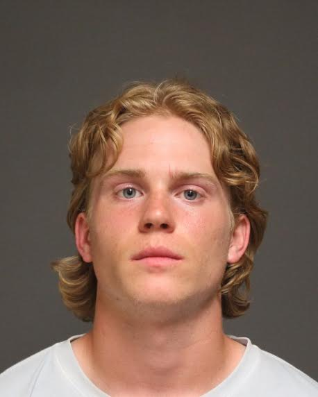 Jacob Ball, 18, of Newtown, was charged with third-degree assault and second-degree breach of peace in Fairfield.
