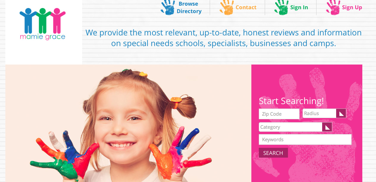 Former Yorktown resident Kate Branson recently launched a new website to help parents of children with special needs.