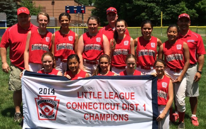 The Redding-Easton softball team beat Westport on Sunday, 3-1, to stay alive in the state Little League tournament.