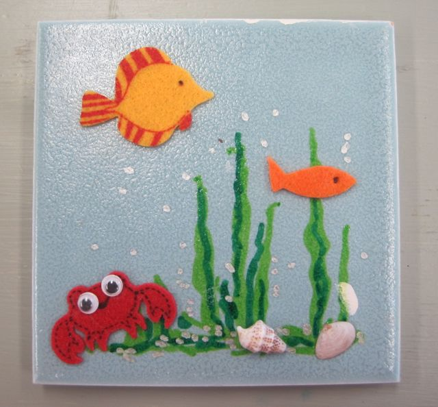Sea Creations on Tile Workshop will be hosted by The Marine Education Center on Saturday, July 12.