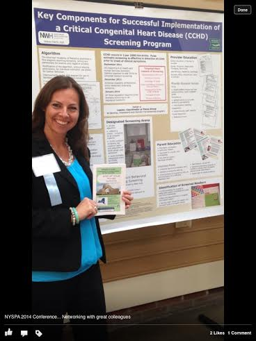 Northern Westchester Hospital nurse Anna Lane presented at New York State Perinatal Association Perinatal Conference in June.